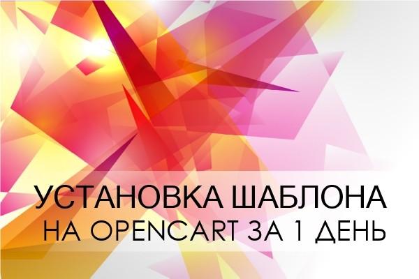 Установка шаблона на Opencart за 1 день 1 - kwork.ru