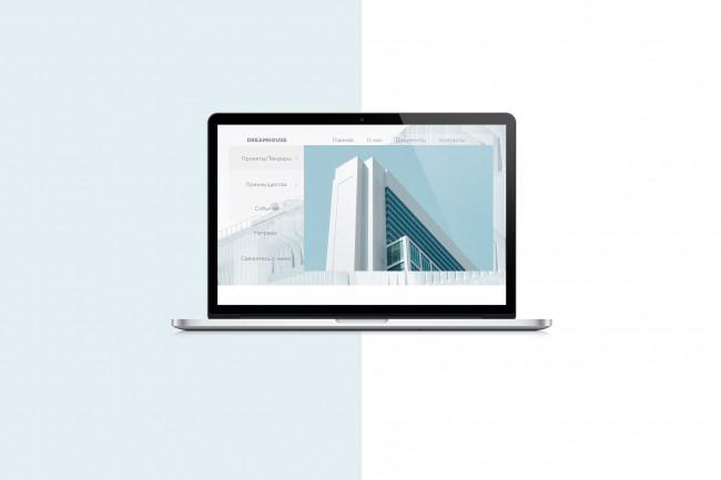 Создам дизайн любой страницы сайта 6 - kwork.ru