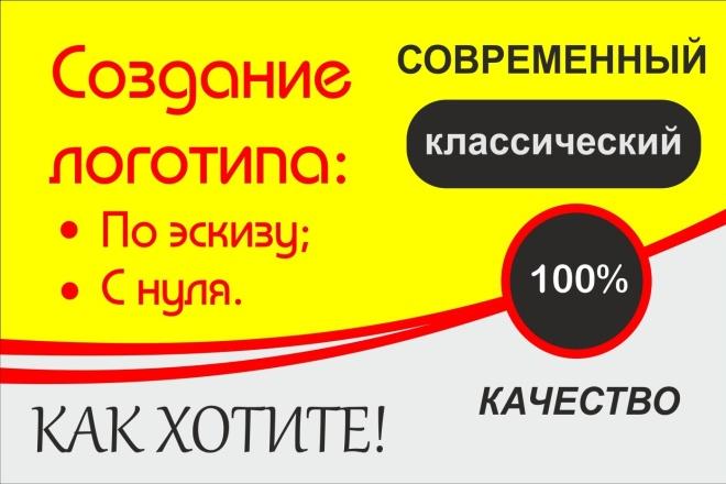 Разработка логотипа С Нуля, исходные Файлы В подарок 12 - kwork.ru