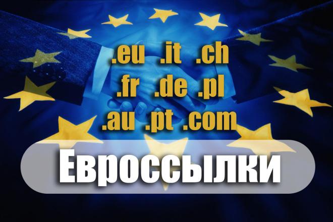 Ссылки европейских сайтов - англоязычные и национальные языки стран 1 - kwork.ru