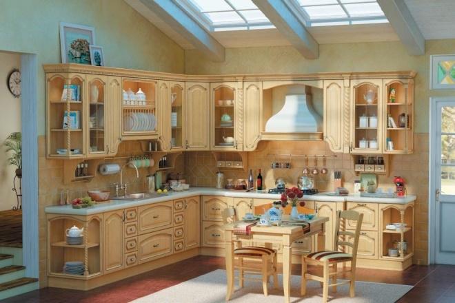 Продам готовую статью на тему Кухня из массива дерева 1 - kwork.ru