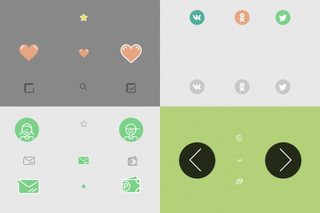 Подберу и адаптирую для Вашего сайта набор иконок 3 - kwork.ru