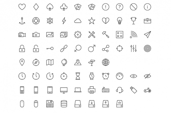 Подберу и адаптирую для Вашего сайта набор иконок 1 - kwork.ru