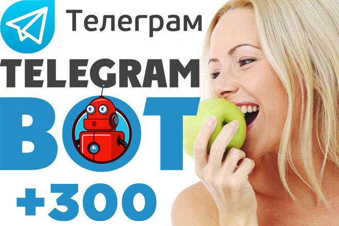 Запуск бота Телеграм. Подписчики на бота Telegram +300 фото