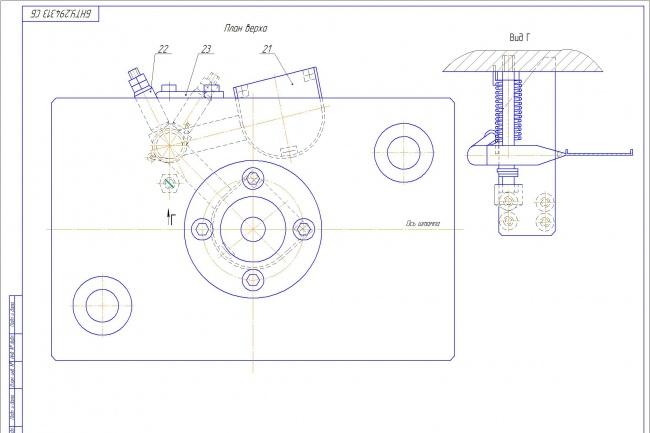 Сделаю чертежи в электронном варианте 1 - kwork.ru