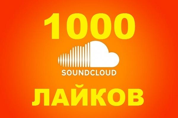 1000 лайков на ваш трек в SoundCloud