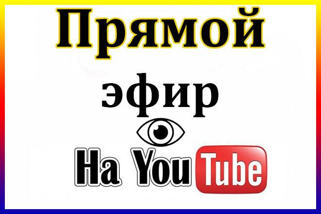 Зрители на стрим в прямом эфире YouTube 1 - kwork.ru