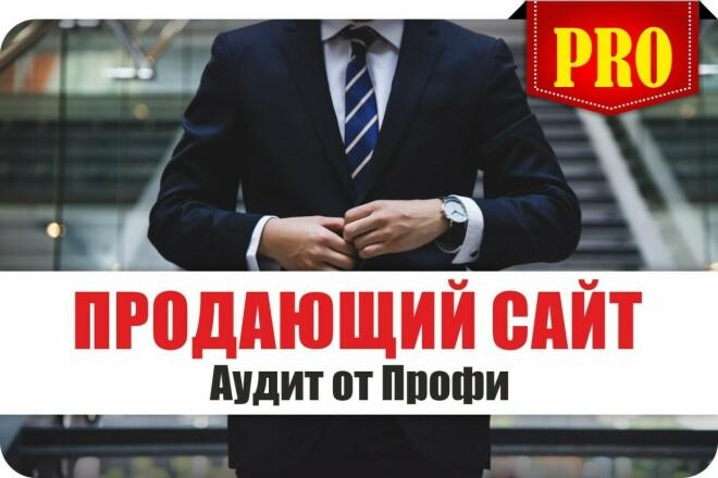 Продающий сайт - Аудит сайта от Профи, оценка анализ проверка лендинга 1 - kwork.ru
