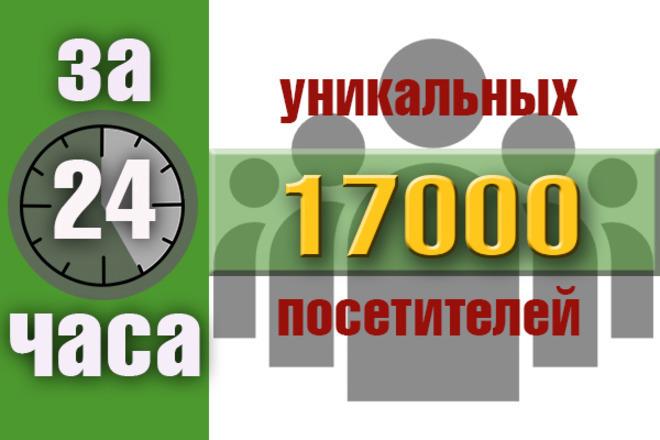 17000 уникальных посетителей на сайт с поисковых систем за 24 часа 1 - kwork.ru