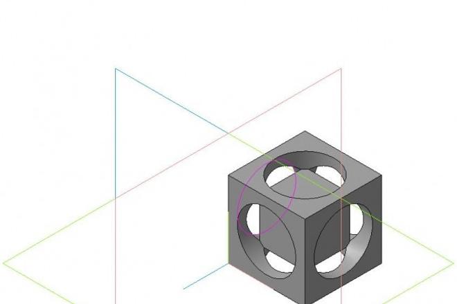 Чертежи и модели в компас 3D 4 - kwork.ru