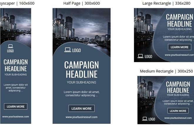 7 баннеров для вашего сайта, адаптированных к рекламе в google 14 - kwork.ru