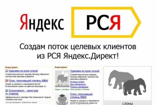 Реклама в РСЯ 1 - kwork.ru