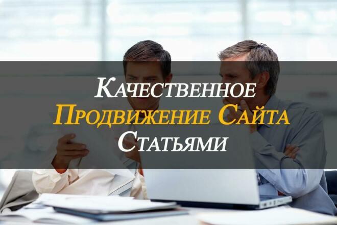 Эффективный статейный прогон на 30 отборных сайтах. Спам не выше 5 1 - kwork.ru