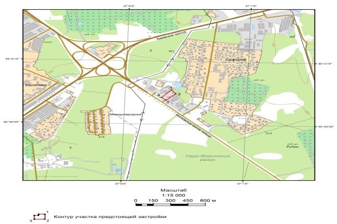 Выполню обзорную схему, план местности для отчёта 5 - kwork.ru