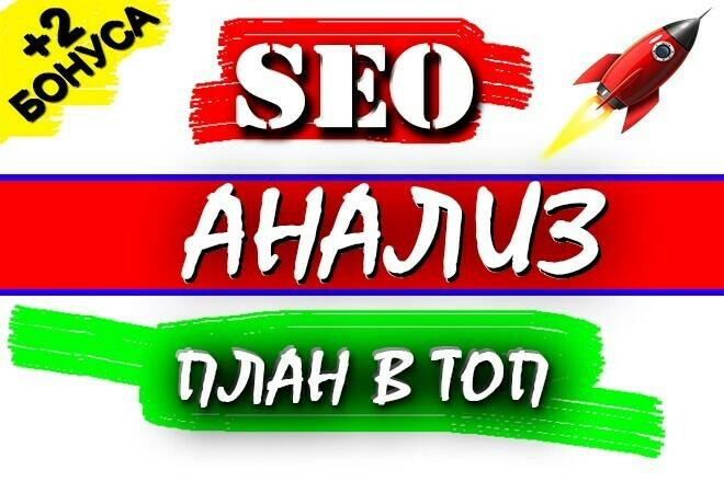 Комплексный SEO Анализ сайта + План для выхода в ТОП + бонус 1 - kwork.ru