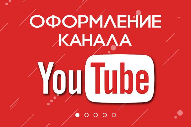 Оформление канала Ютуб. Дизайн шапки Youtube 14 - kwork.ru