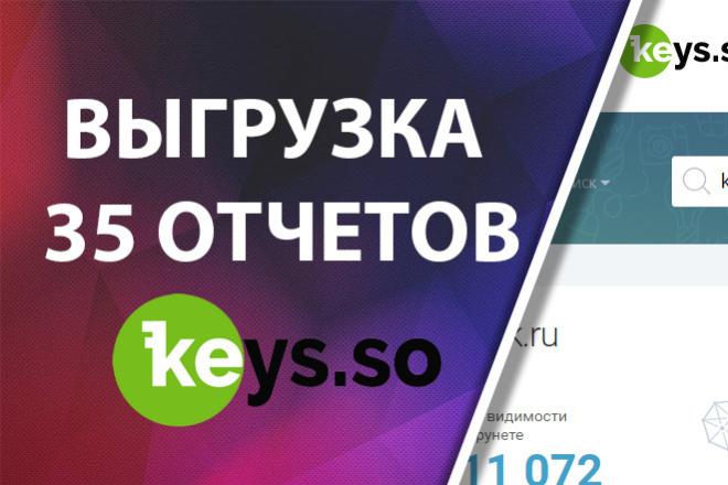 Ключевые слова конкурентов Keys. so. Сервис кейссо, кейсо 1 - kwork.ru