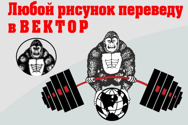 Переведу любой рисунок в вектор 21 - kwork.ru
