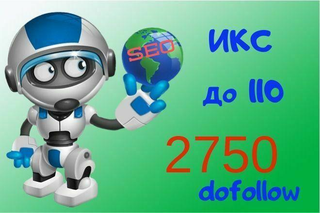 Увеличение ИКС молодых сайтов до 110 1 - kwork.ru