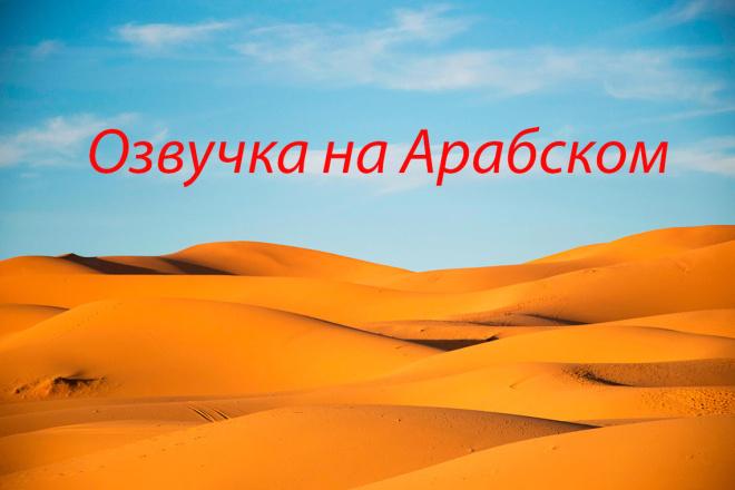 Сделаем озвучку на Арабском 1 - kwork.ru