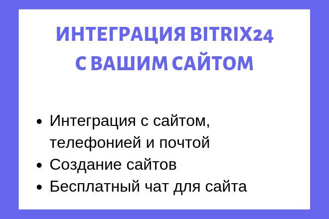Интеграция с Bitrix24 1 - kwork.ru