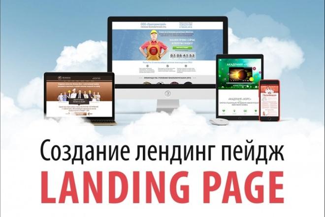 Создание продающих сайтов landing page 19 - kwork.ru