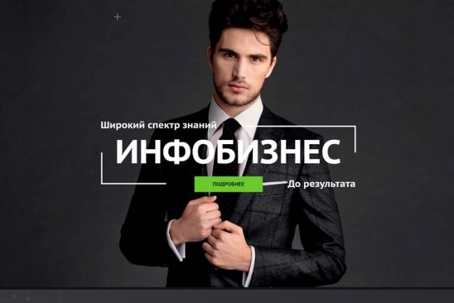 Создание продающих сайтов landing page 9 - kwork.ru