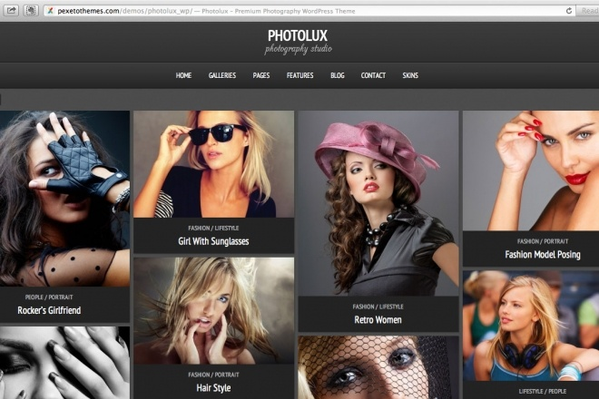 Тема Photolux для WordPress на русском с обновлениями и плагинами 6 - kwork.ru
