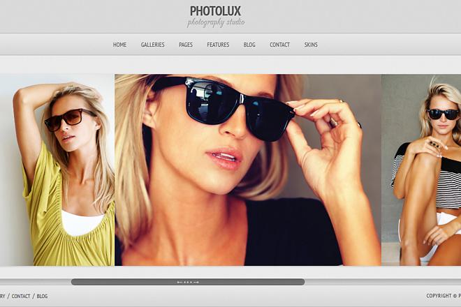 Тема Photolux для WordPress на русском с обновлениями и плагинами 4 - kwork.ru