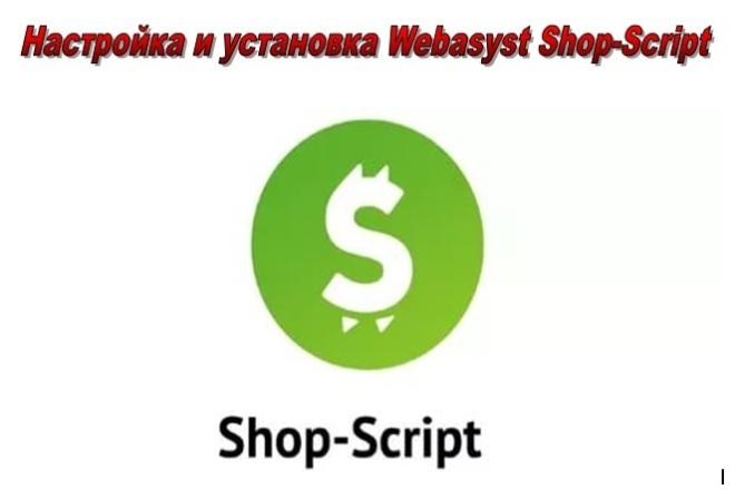 Настройка и установка Webasyst Shop-Script 5,6, 7,8 14 - kwork.ru