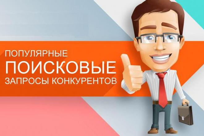Анализ запросов конкурентов в Яндекс 1 - kwork.ru