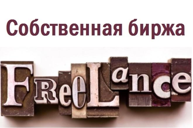 Создам биржу фриланса под ключ 4 - kwork.ru