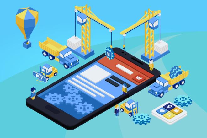 Разработка мобильных приложений для iOS и Android 14 - kwork.ru