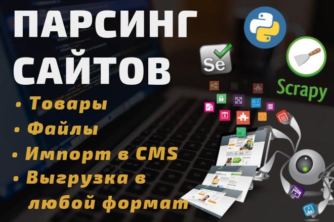 Парсер данных c сайта под любые нужды 1 - kwork.ru