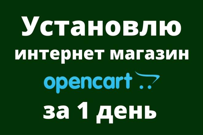 Установлю интернет-магазин OpenCart за 1 день 27 - kwork.ru