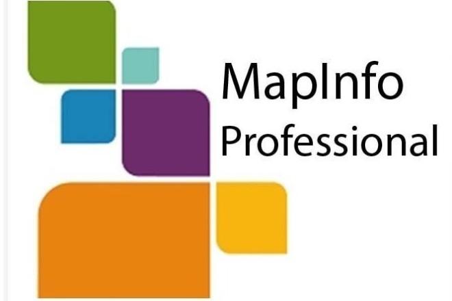 Помощь в работе с MapInfo геоинформационная система 1 - kwork.ru