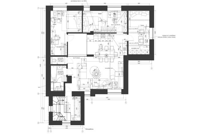 Планировочное решение вашего дома, квартиры, или офиса 68 - kwork.ru