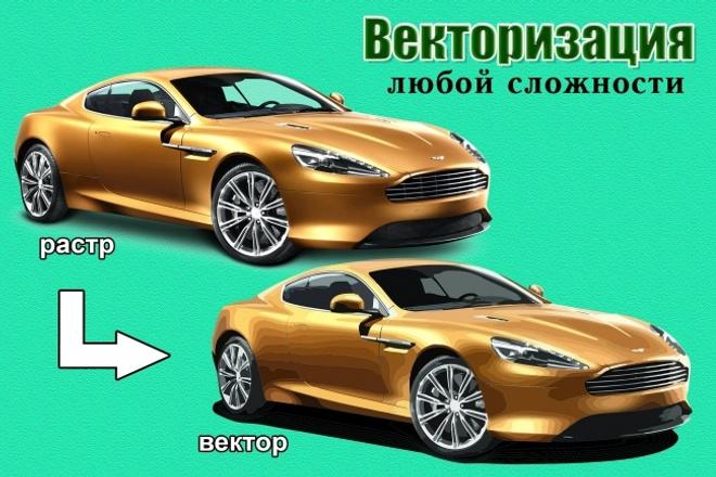 Переведу в вектор растровое изображение 8 - kwork.ru