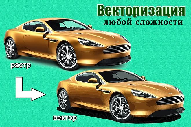 Переведу в вектор растровое изображение 7 - kwork.ru