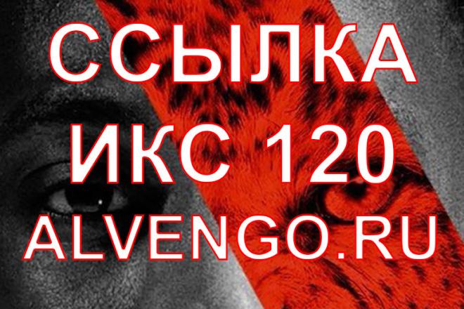 3 Вечных ссылки ИКС 120 + написание статьи на сайте Alvengo 1 - kwork.ru
