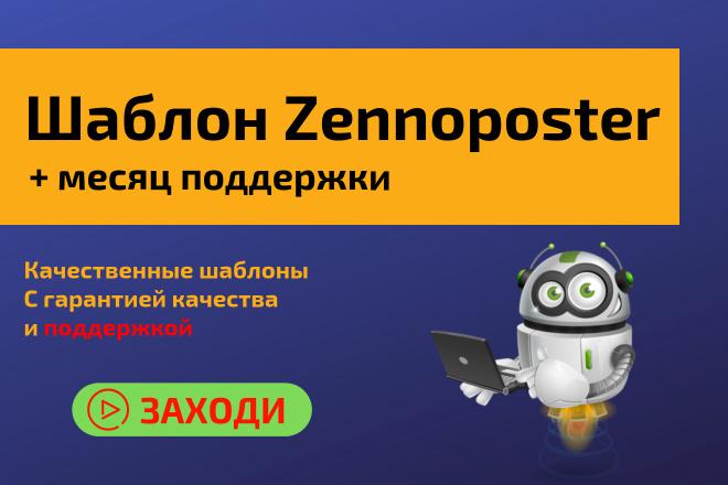 Шаблон для Zennoposter 1 - kwork.ru