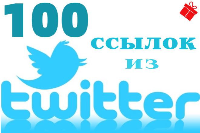 100 ссылок из Твиттера 1 - kwork.ru