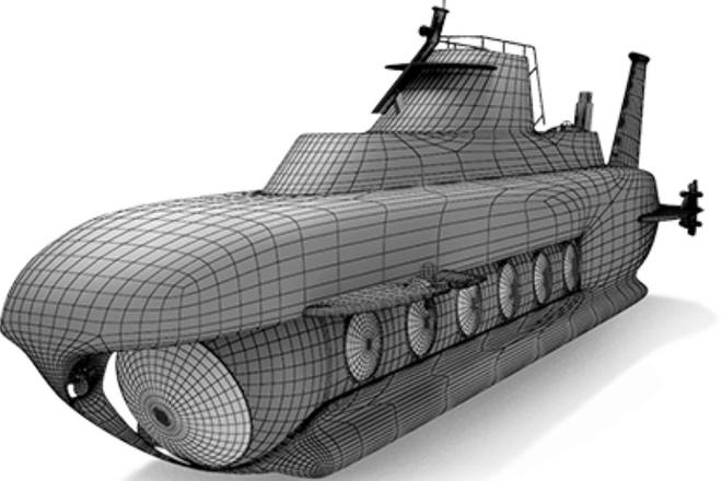 Blender l 3Д моделирование 47 - kwork.ru