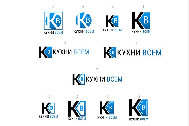 Логотип с нуля. 4 варианта + исходник в векторе + визуализация + бонус 17 - kwork.ru