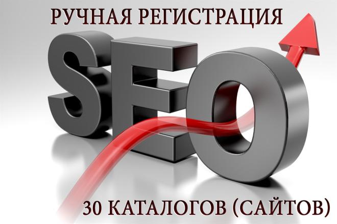 Ручная регистрация в каталогах с высоким ИКС 1 - kwork.ru