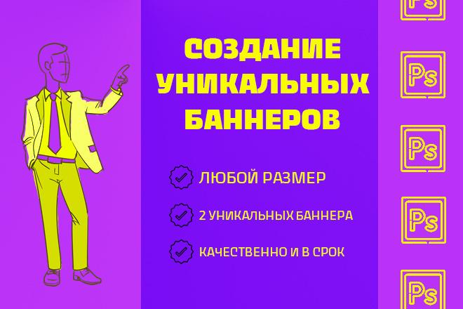 Создание уникальных баннеров 9 - kwork.ru