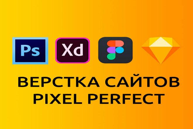 Профессиональная Верстка сайтов по PSD-XD-Figma-Sketch макету 18 - kwork.ru