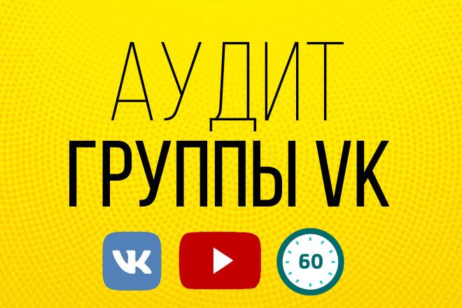Аудит группы ВКонтакте, после которой она приносит больше денег 1 - kwork.ru