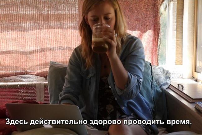 Перевод 15-минутного видео с субтитрами с английского на русский 1 - kwork.ru