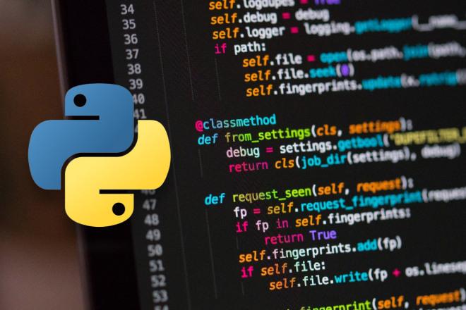 Напишу телеграм-бота и другие программы на Python 1 - kwork.ru